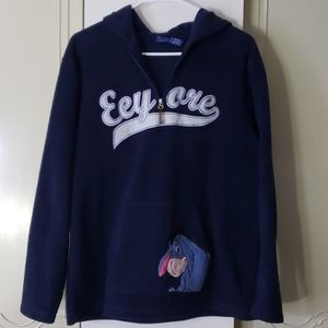 Disney Eeyore quarter zip pullover sweater